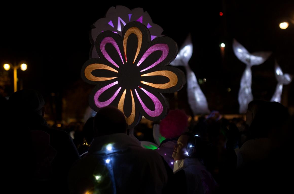 Flowery lights